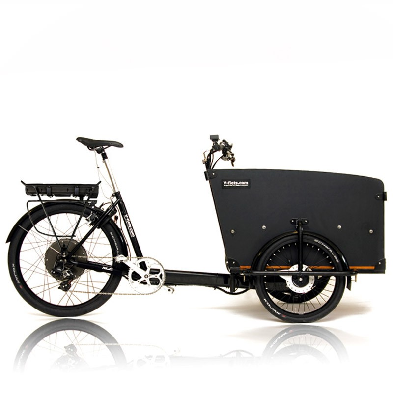 V-fiets-Cargobike Ebike kit with carrier (325Wh 3W)-31