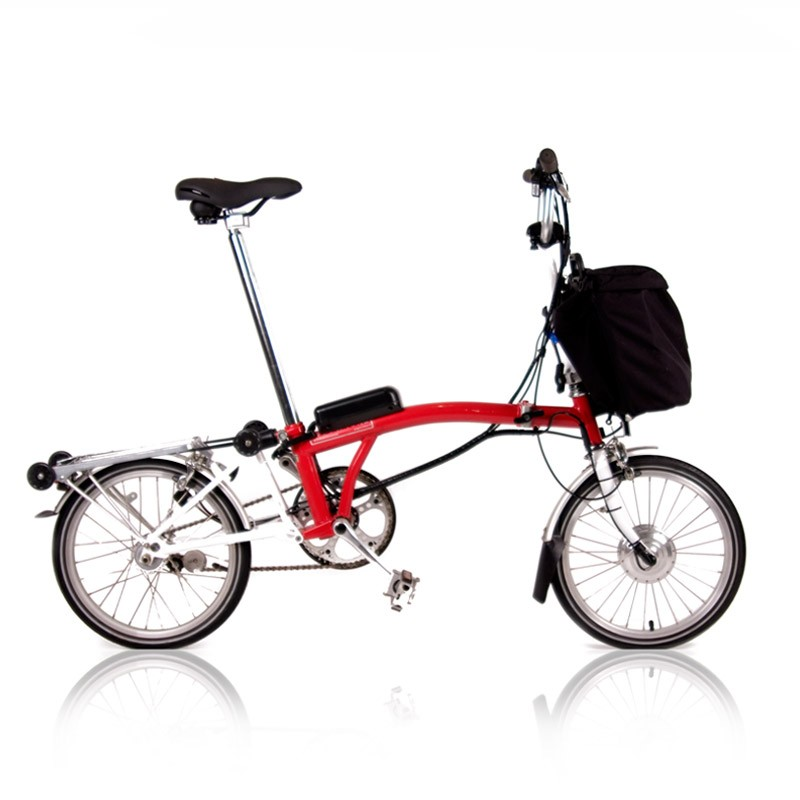 Brompton Electric Folding Bike Set Lightweight V Fiets