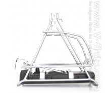 V-fiets-Bicycle rack silver 2013-20