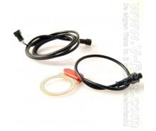 V-fiets-Pedal sensor E-bike dividable (red, 205 cm)-20