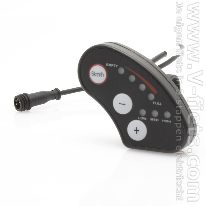 V-fiets-E-bike LED Display (36V, excl. kabel)-33