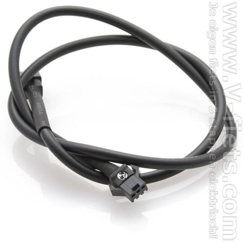 V-fiets-Verlengkabel 3-pins (55cm)-32