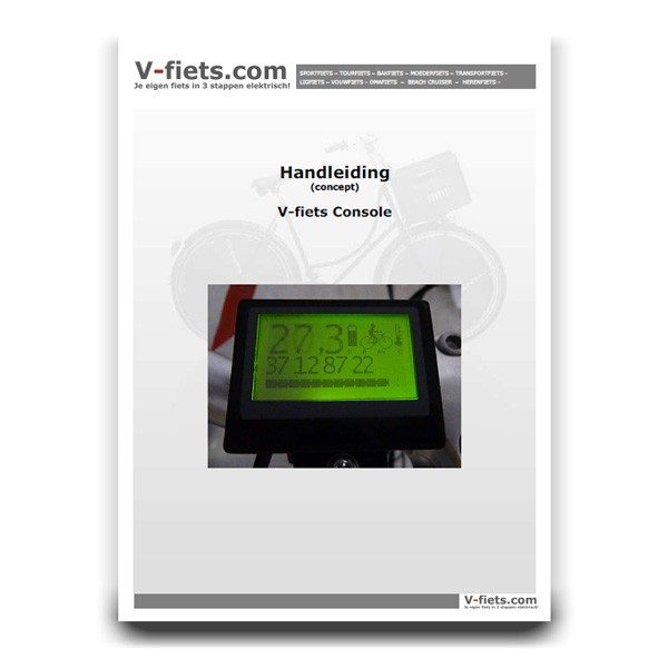V-fiets-V-fiets Console Handleiding (2007-2008)-32