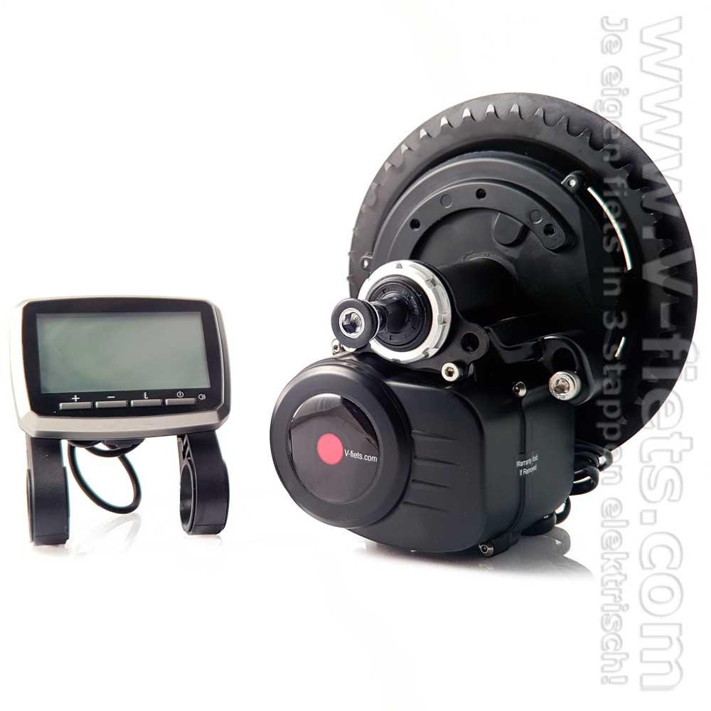 V-fiets-Fiets/Ebike Middenmotor V-SP2 Groot LCD-36