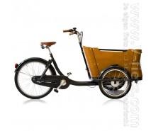 """V-fiets-Elektrische Bakfiets """"Double Drive"""" Set (375Wh 3W)-20"""