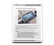 V-fiets-V-MINI Handleiding LCD display (2008-2009)-20