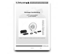 V-fiets-V-TT Handleiding voor de 2-wiel bakfiets (2007-2010)-20
